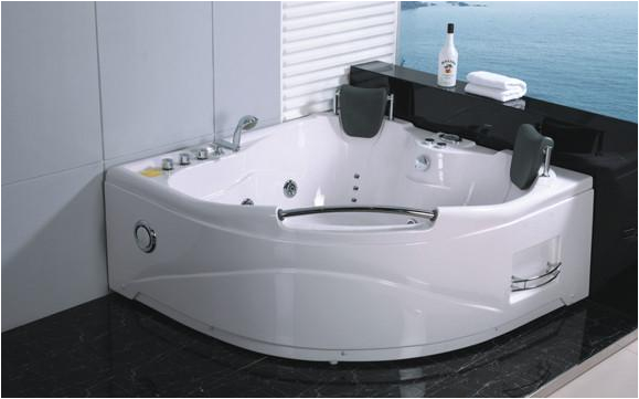 2 person jetted whirlpool bathtub tub