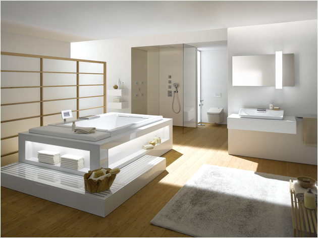 Whirlpool bathtub for two persons