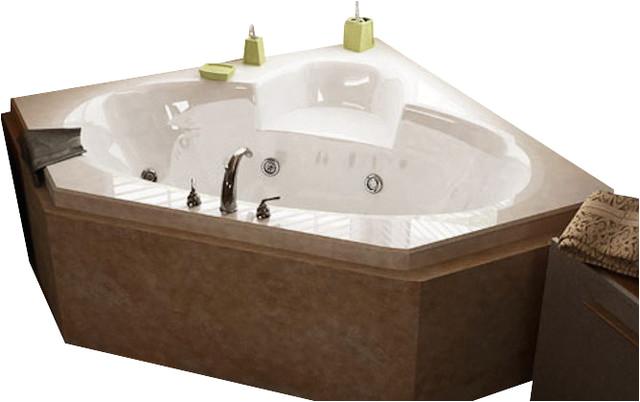 Whirlpool Bathtub Jet Spa atlantis Tubs 6060sw Sublime 60x60x23 Inch Corner