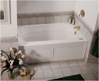 jacuzzi lxs6032wlr2xxa 60 inch x 32 inch luxura three wall alcove fort whirlpool bathtub with 8 jets basic controls left drain and right pump holiday deals