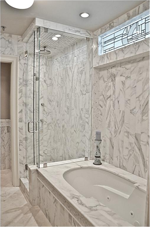 Whirlpool Bathtub with Surround Master Bath with Whirlpool Tub Surround with Slab Marble