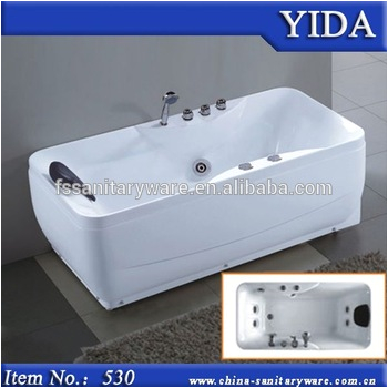 water massage bathtub with tv and