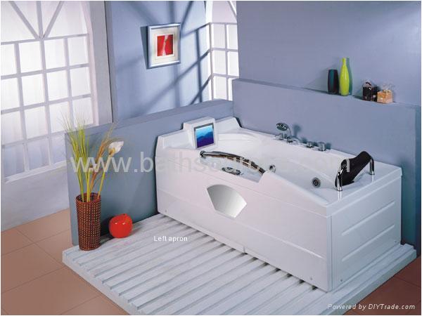 with TV massage bathtub jacuzzi surf whirlpool spa