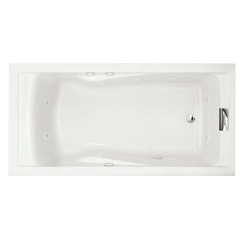 "Whirlpool Bathtubs 72 X 36 American Standard Evolution 72"" X 36"" Everclean Hydro"