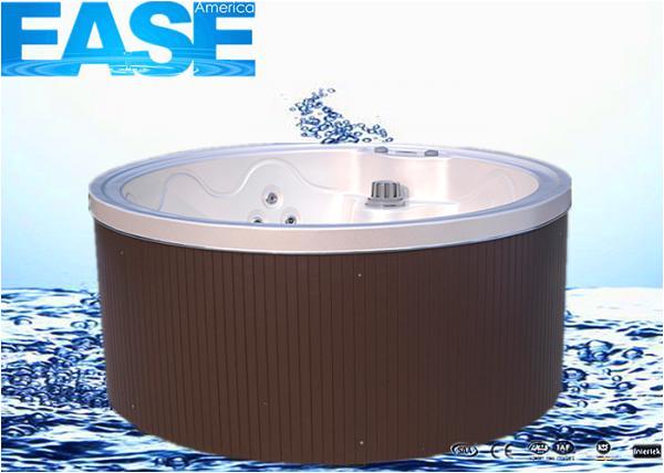 pz57af333 z5417cde mini acrylic round whirlpool massage bathtub thermostat system outdoor spa hot tub