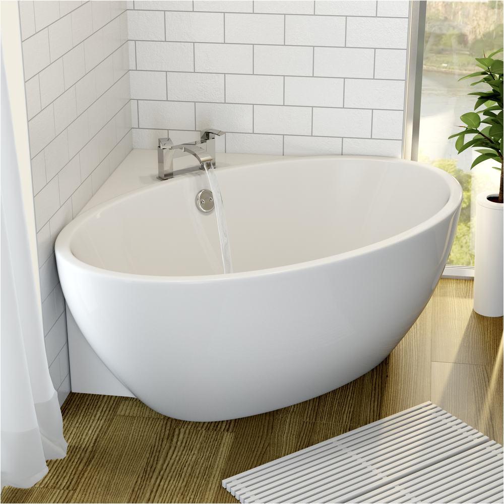 Why are Bathtubs Small Corner Freestanding Space Saving Acrylic Bath 1270aste