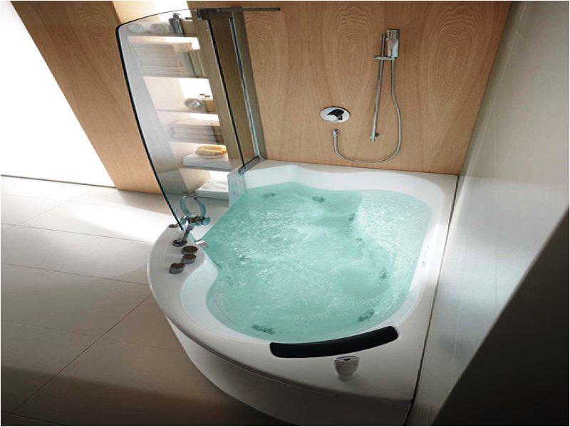 small corner tub 48