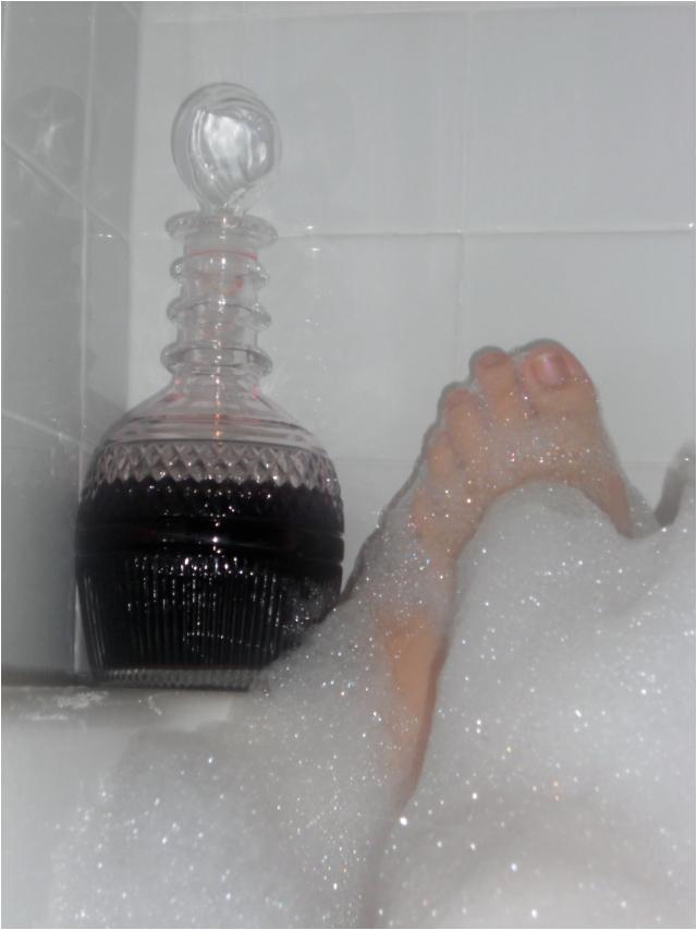 fancy bubble bath