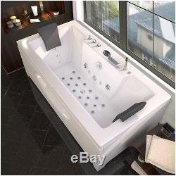 whirlpool bath jacuzzi corner shower spa massage 2 person double bathtub n6132m