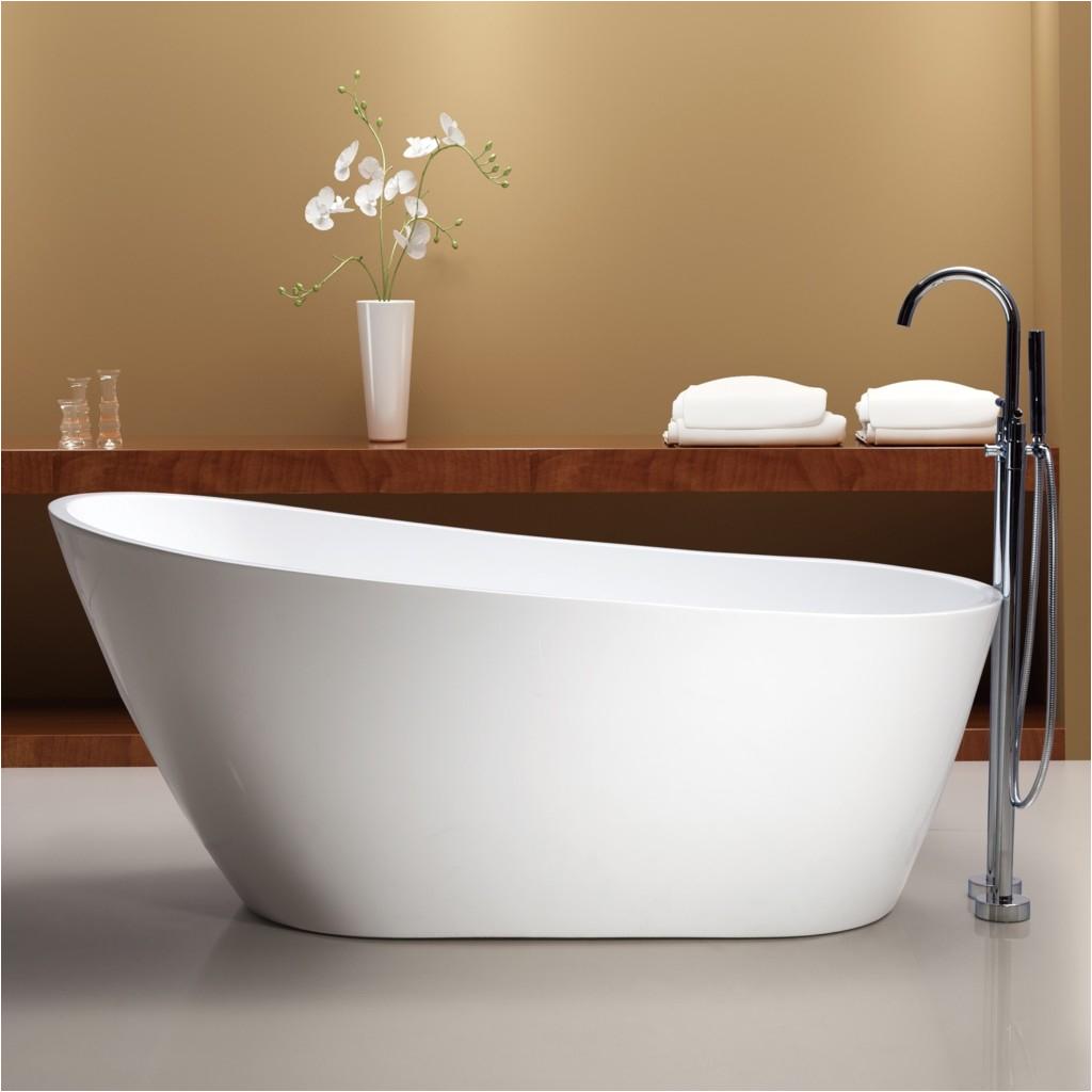 With Bathtubs Modern Tubs and More Mal Freestanding Bathtub Save 35
