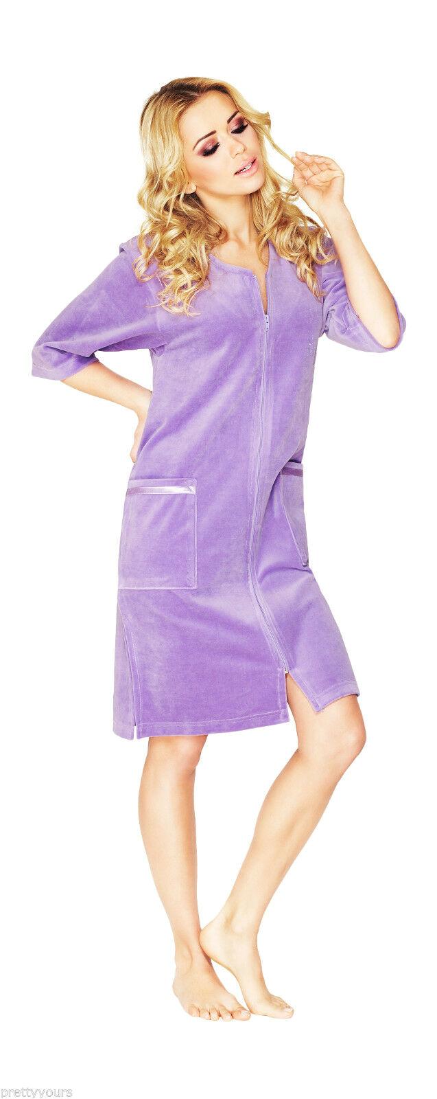 Women's Bathrobes Terry Cloth Women S Cotton Bath Robe Housecoat Dressing Gown Dress