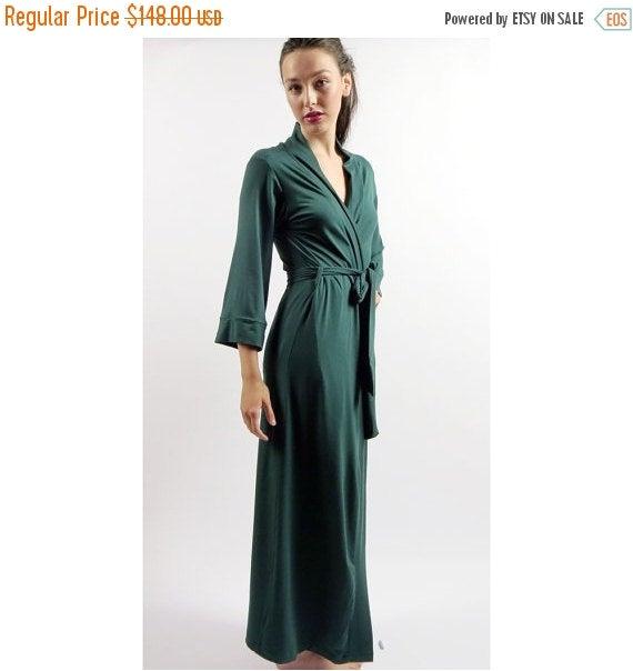 womens long robe gem bamboo sleepwear