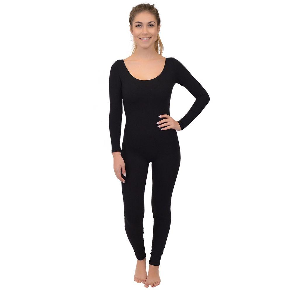 Women's Nylon Bathrobes Women S Cotton or Nylon Neon Dance Catsuit Long Sleeve