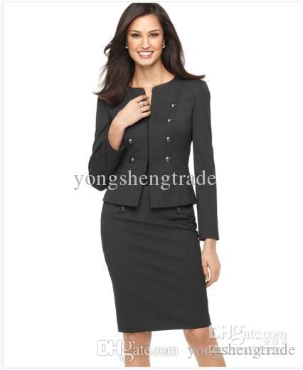 Women's Personalized Bathrobes 2019 Women S Suit Long Sleeve Military Cadet Jacket