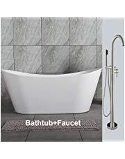 Woodbridge 59 Acrylic Freestanding Bathtub Freestanding Bathtubs