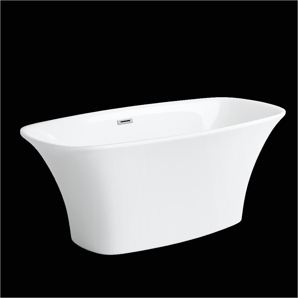 "York Freestanding Bathtub 59"" Contour Freestanding Tub"