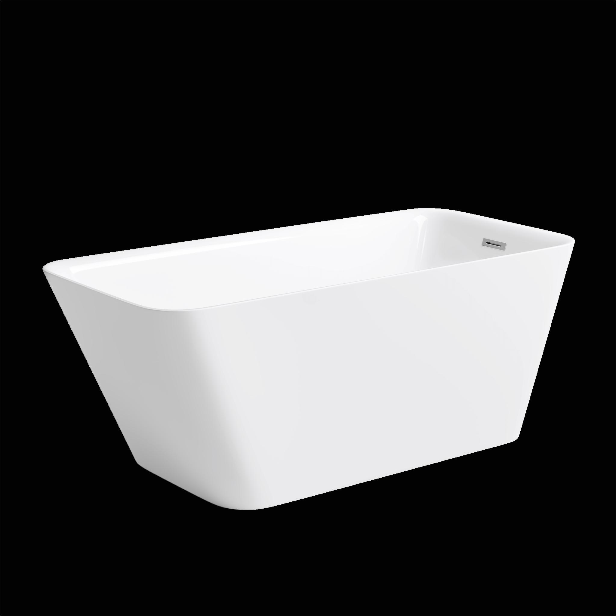 "York Freestanding Bathtub 59"" Stanley Freestanding Bathtub"
