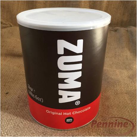 zuma original hot chocolate powder mix 2kg