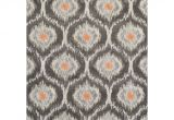 10 by 13 Foot area Rugs Addison Platinum Grey Ivory orange Moroccan area Rug 9 6 X 13 2