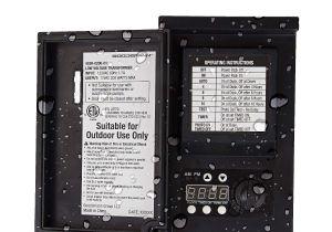 12 Volt Transformer Outdoor Lighting Malibu Led 200 Watt Low Voltage Transformer Power Pack with Digital