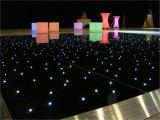 12×12 Led Dance Floor Black Starlight Led Dancefloor 12ft X 12ft Set