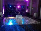 12×12 Led Dance Floor White Led Starlit Dance Floor Hire Wedding Bookings