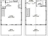 16×20 House Floor Plans 16×20 House 16x20h1 620 Sq Ft Excellent Floor Plans