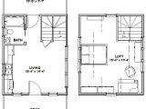 16×20 House Floor Plans 16×20 House 16x20h4a 574 Sq Ft Excellent Floor