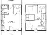 16×20 House Floor Plans 229 Best Images About Small Tiny Homes On Pinterest