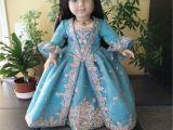 18 Inch Doll Bathtub Victorian Dress for American Girl Doll American Girl Doll Clothes