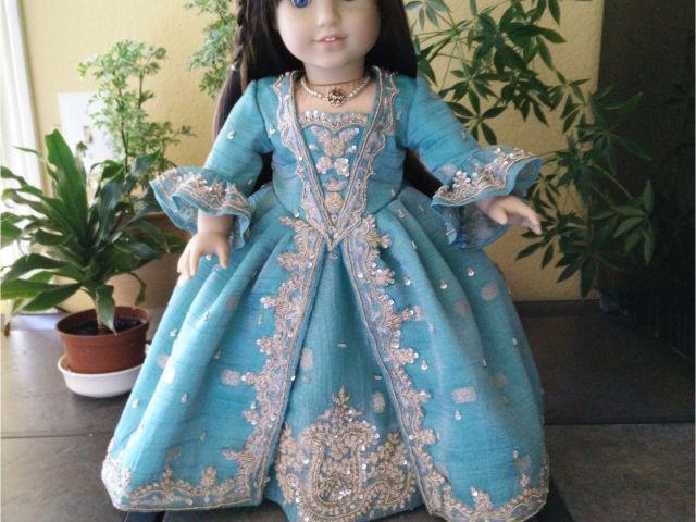 18 Inch Doll Bathtub Victorian Dress For American Girl Doll American