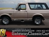 1996 ford Bronco Interior Panels 1996 ford Bronco Gateway Classic Cars 36 Den