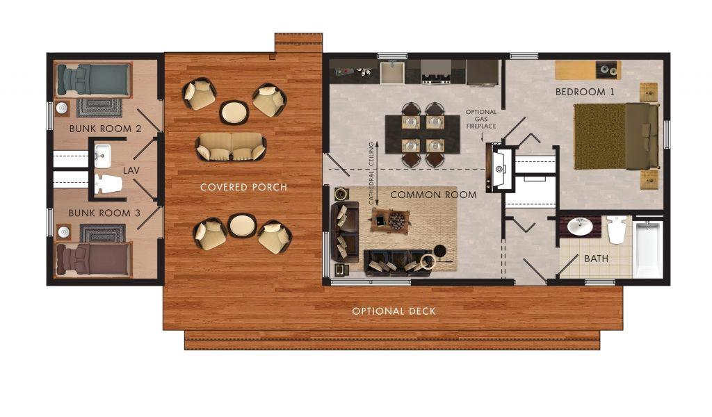 2 Bedroom Rv Motorhome Travel Trailers With Bunk Beds Floor Plans