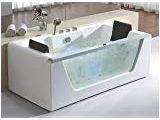 2 Person Freestanding Bathtubs Eago Am200 5 Feet Rounded Modern Double Seat Corner
