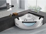 2 Person Freestanding Bathtubs Empava 59″ Jacuzzi Tub Luxury 2 Person Hydromassage Corner