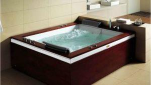"2 Person Freestanding Bathtubs Mesa 2 Person 71"" X 52"" Freestanding Bination Bathtub"