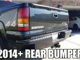 2003 Tahoe Tail Lights 2005 Gmc Sierra 2500hd Adding 2014 Sierra Silverado Rear Bumper