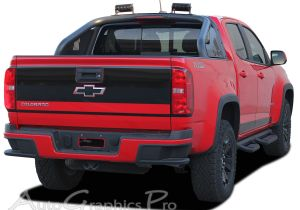2005 Chevy Colorado Tail Lights 2016 2017 Chevy Colorado Grand Rear Tailgate Accent Vinyl Graphics