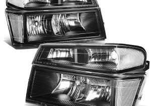 2005 Chevy Colorado Tail Lights Amazon Com for Chevy Colorado Gmc Canyon 4pcs Black Housing Clear