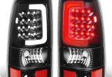 2005 Gmc Sierra Tail Lights Amazon Com for Silverado Sierra Fleetside Pair Of 3d Led Bar Tail