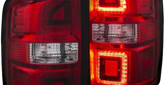 2005 Gmc Sierra Tail Lights Gmc Sierra 1500 2500 Hd Tail Lights Left Right Pair W Red Clear