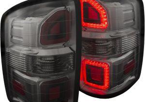 2005 Gmc Sierra Tail Lights Gmc Sierra 1500 2500 Hd Tail Lights Left Right Pair W Smoke Lens