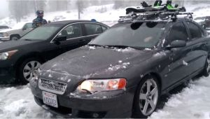 2006 Volvo S60 Roof Rack 2006 Volvo S60r Awd In Slushy Snow Youtube