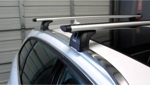 2009 Volvo S60 Roof Rack 2012 Audi A4 Avant with Thule 460r Podium Aeroblade Base Roof Rack