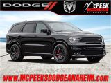 2015 Dodge Durango Sxt Interior New 2018 Dodge Durango Srt Sport Utility In Anaheim J752 Mcpeek S