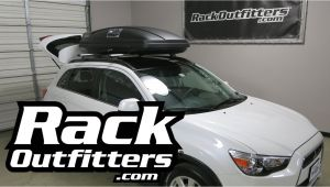 2015 Mitsubishi Outlander Sport Roof Rack Cross Bars 2014 2016 Mitsubishi Outlander Sport with Thule 628 force Roof top
