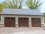 24×36 Pole Barn House Plans Beautiful 3 Bay Garage Pole Building Home Sweet Home Pinterest
