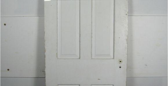 29 3/4 Wide Interior Door Antique Vintage 6 Panel Interior Door 29 3 4