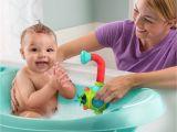 3 In 1 Baby Bathtub Summer Infant My Fun Tub Baby Bath Seat with Sprayer