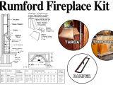 36 Rumford Fireplace Kit Rumford Fireplace 36 Fireplace Kit